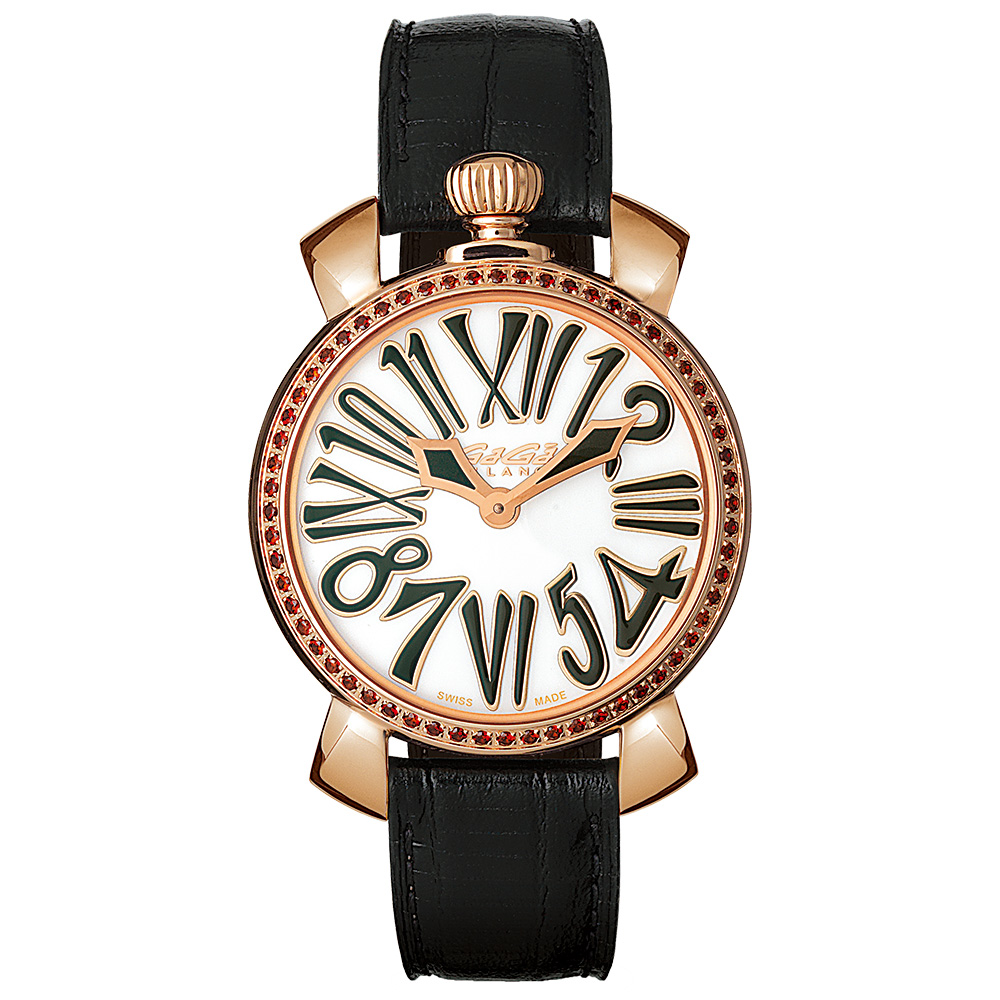 MANUALE 35MM STONES GOLD PLATED