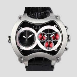 Big Time GRAND 57mm Chrono 2Time Zone JAPAN Limited 50本限定モデル(シルバー)