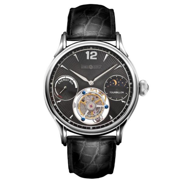 メモリジン トラベラーズ 腕時計 MO0511-SSBKBKR