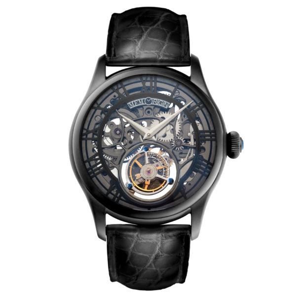 メモリジン オースピシャス 腕時計 MO0123-BKBKBKR
