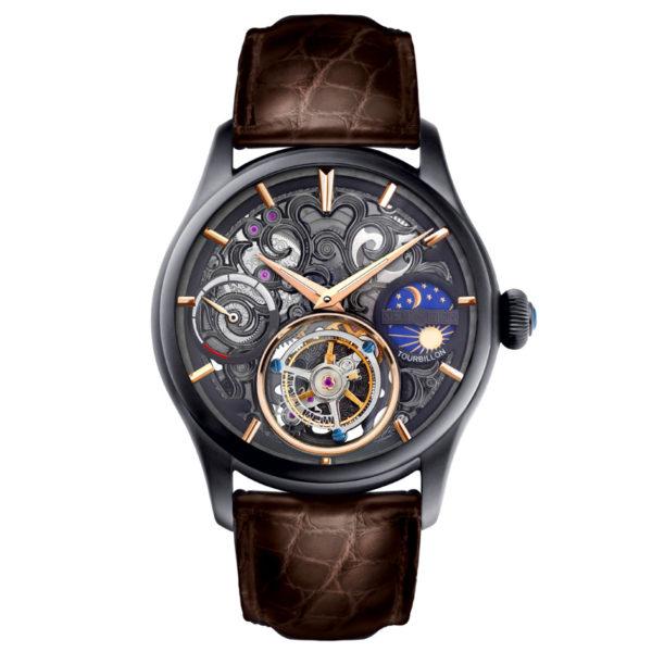 メモリジン ナビゲーター 腕時計 MO1006-BKBRBKB