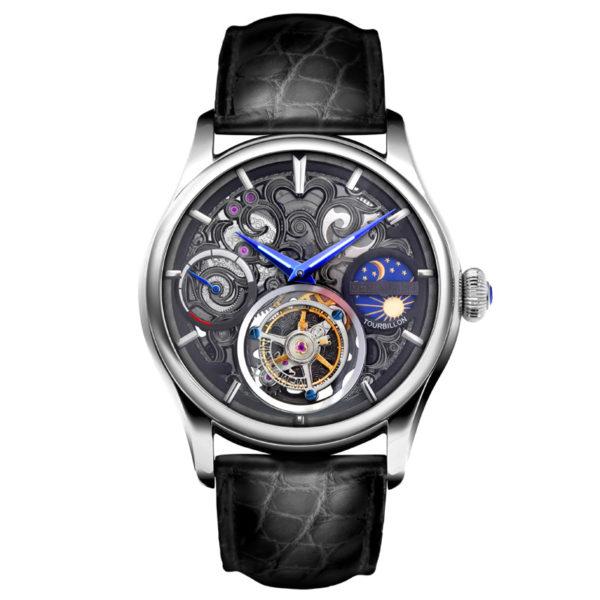 メモリジン ナビゲーター 腕時計 MO1006-SSBKBKB