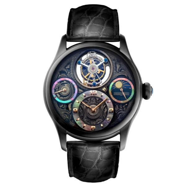 メモリジン スターリットレジェンド 腕時計 MO1231-BKBKBKA