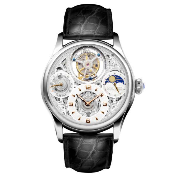 メモリジン スターリットレジェンド 腕時計 MO1231-SSWHGBKA
