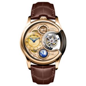 メモリジン ステラ トゥールビヨン 腕時計 AT1118-RGRGBRR