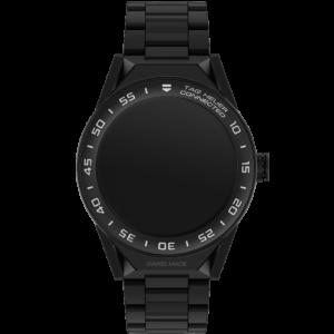 コネクテッド モジュラー45 ブラックセラミックストラップ(ブラックマットセラミックベゼル
