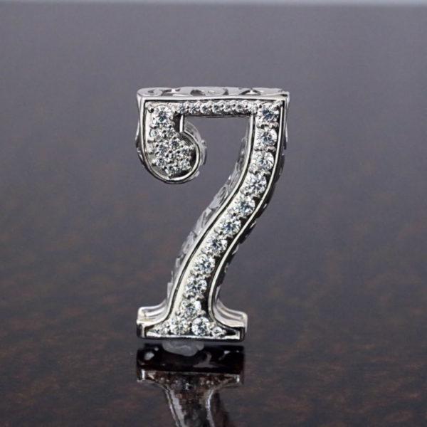 ミラクルナンバーペンダント「7」