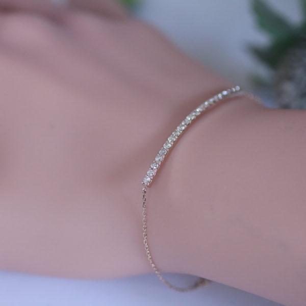 chouchou(シュシュ)K18PG ブレスレット ダイヤモンド 0.50ct