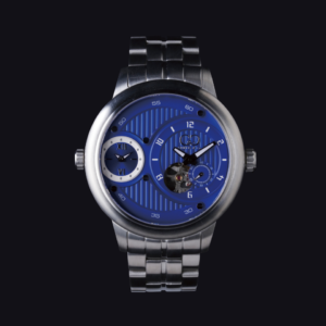 CURTIS & Co THE BIG TIME PASSPORT BLUE DIAL / STAINLESS STEEL SERIES